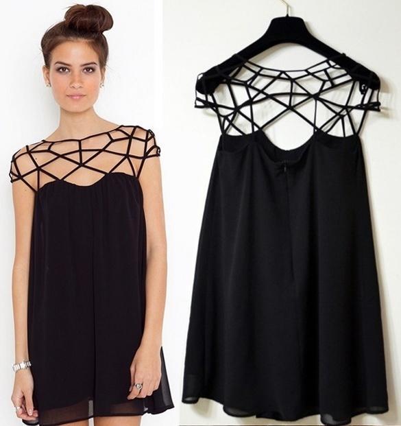 Алиэкспресс черное платье