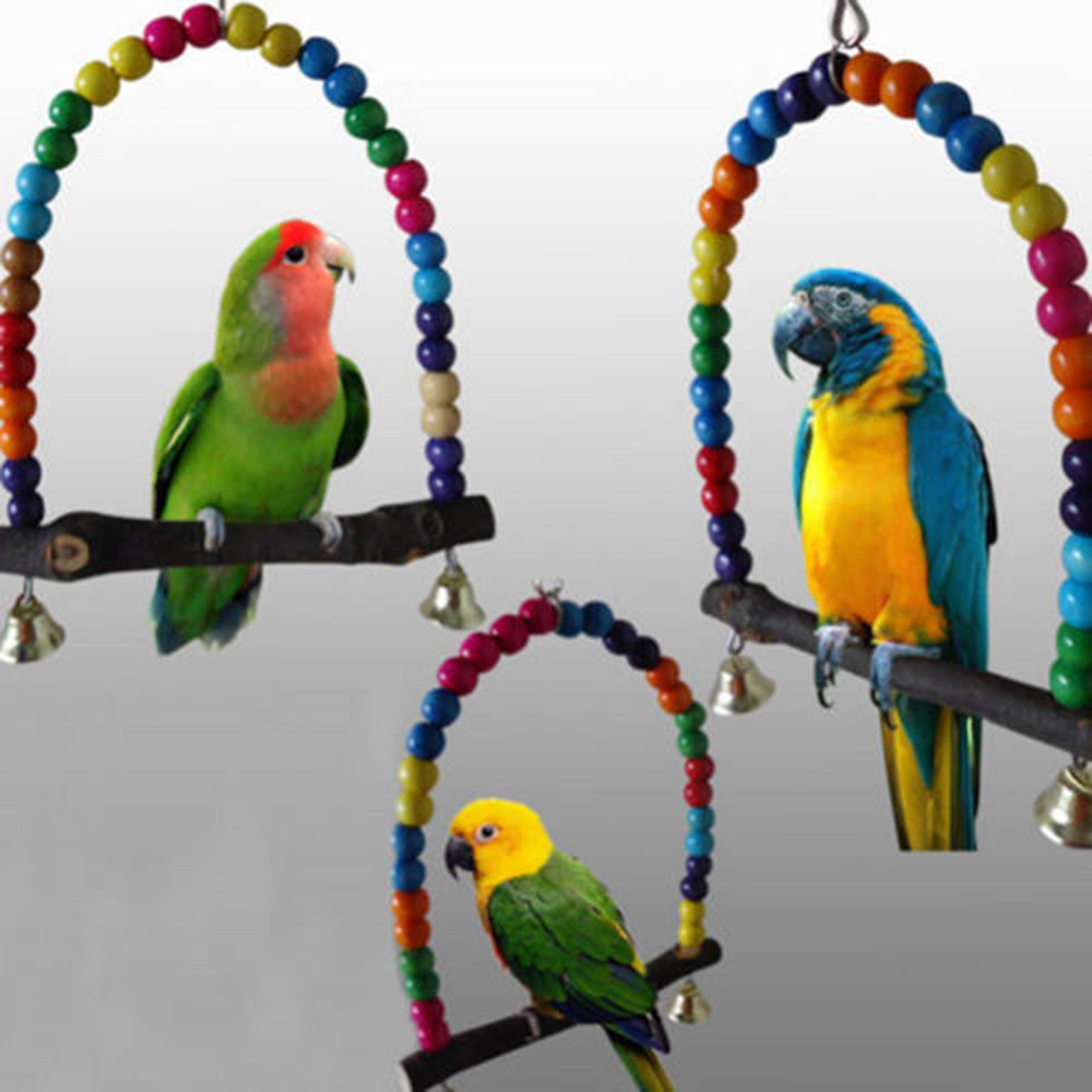 Игрушки для попугаев неразлучников