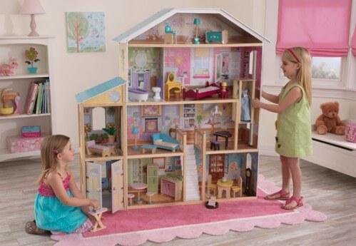 Идеи детских домиков для кукол фото