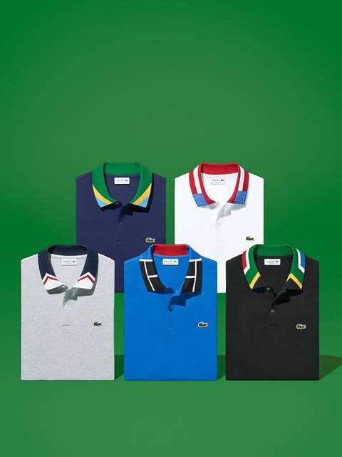 Mirka laura severa lacoste grand podium nationcolorblock