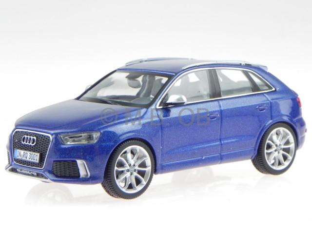 Audi Q3 RS blau Modellauto 450751101 Schuco 1:43
