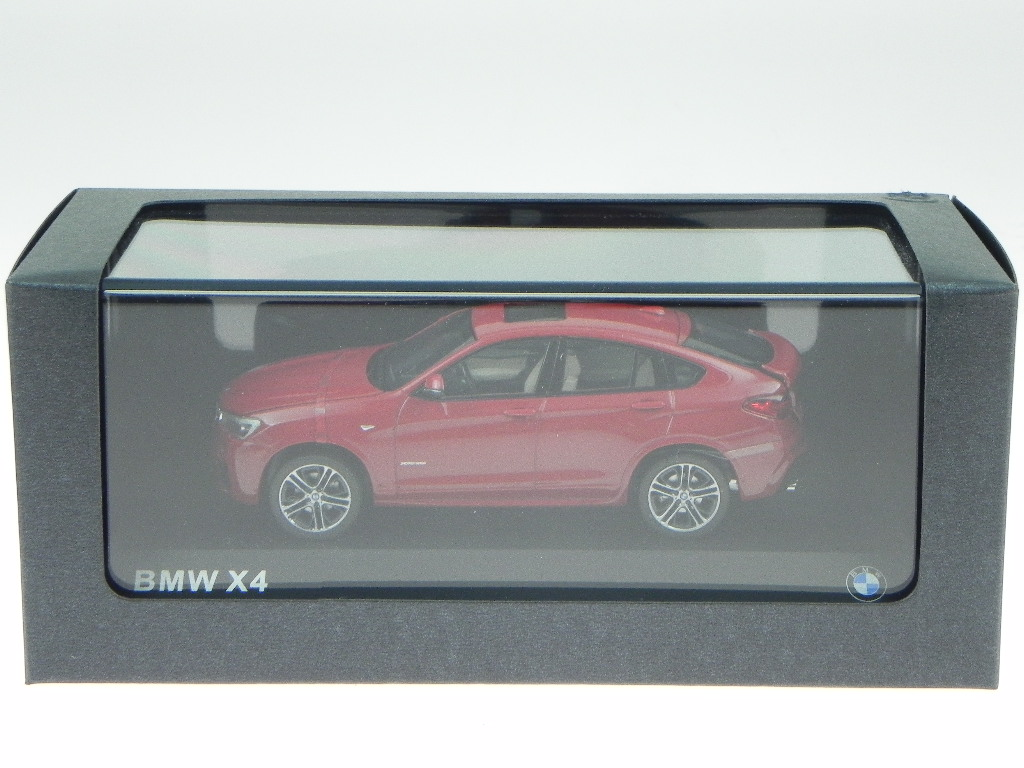 BMW F26 X4 rmelbourne rojo coche en miniatura Herpa 1:43