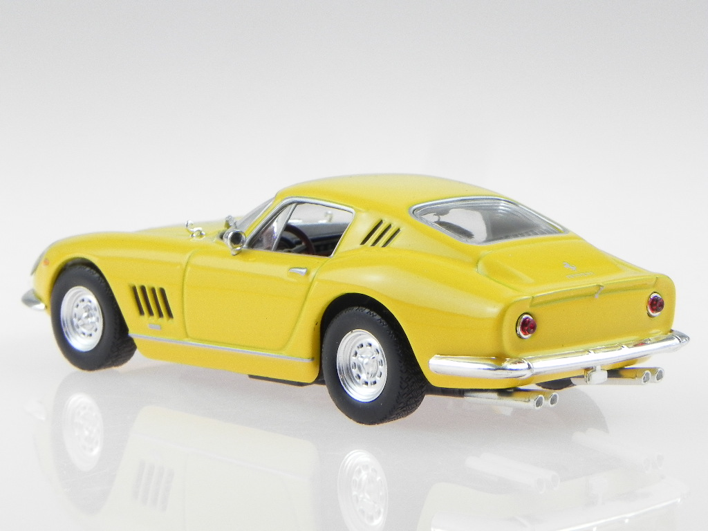 Ferrari 275 Gtb Gelb Modellauto In Vitrine 1 43 Eur 19 99