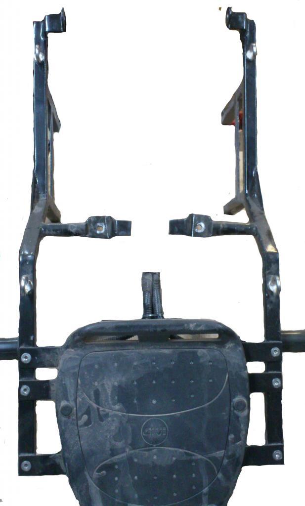 Багажная система yamaha ybr125
