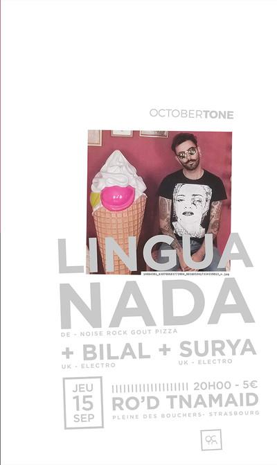 LINGUA NADA + SURYA BONALI + BILAL