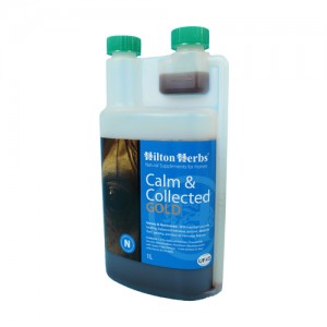 Hilton Herbs Calm & Collected Gold for Horses -...