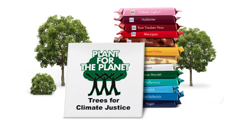 Ritter Sport und Plant for the Planet