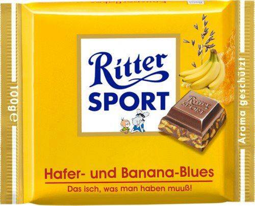 Fake-Sorte Hafer- und Banana-Blues