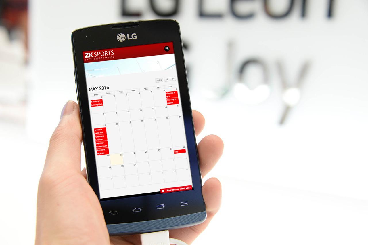 Zk calendar phone