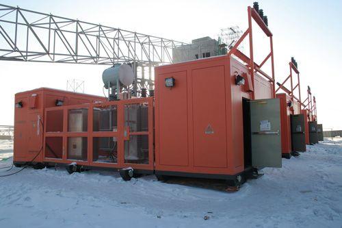 Skid Substation Top