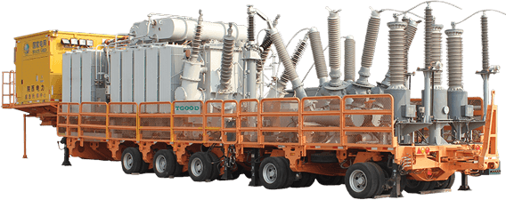 High Voltage Trailer Mounted Hgis Substation