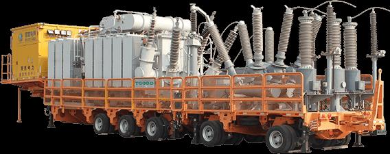 High Voltage Trailer Mounted Hgis Substation