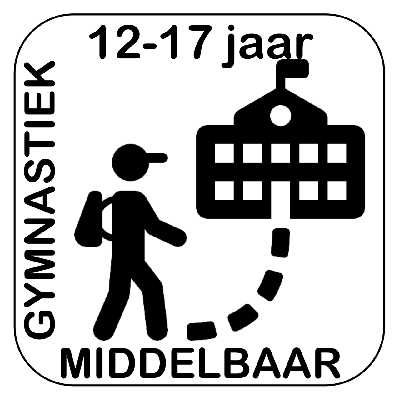 Logo GymFlex turnen middelbaar gymnastiek