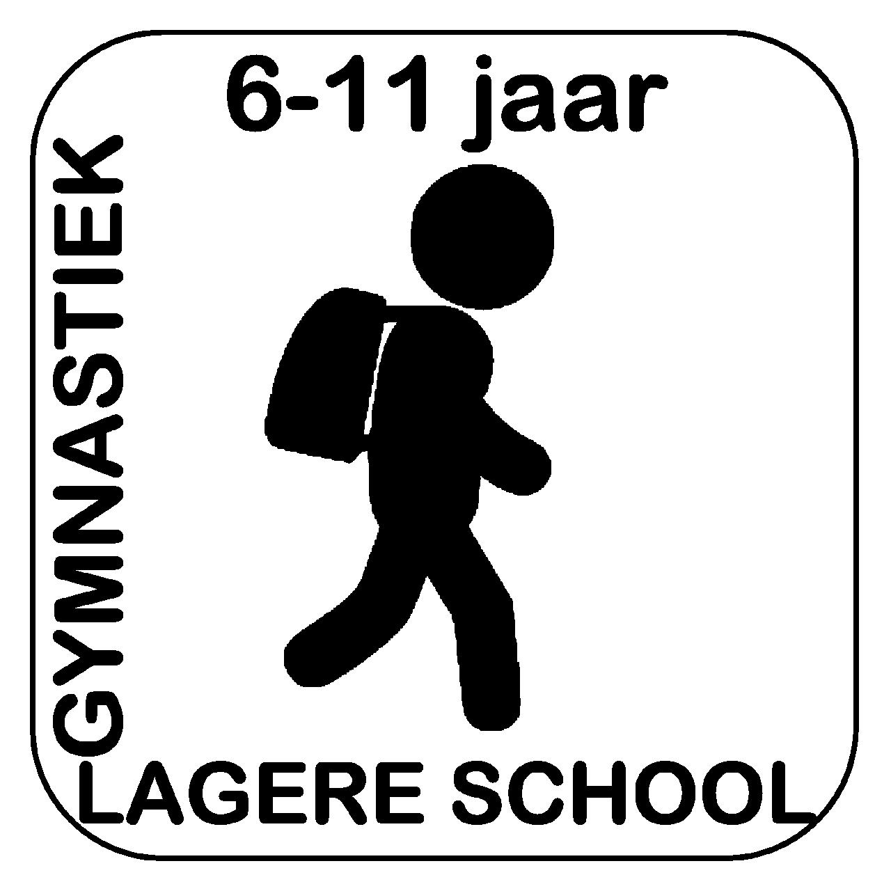 Logo GymFlex turnen lagere school gymnastiek