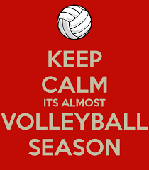 Keep Calm the volleyball season is getting started