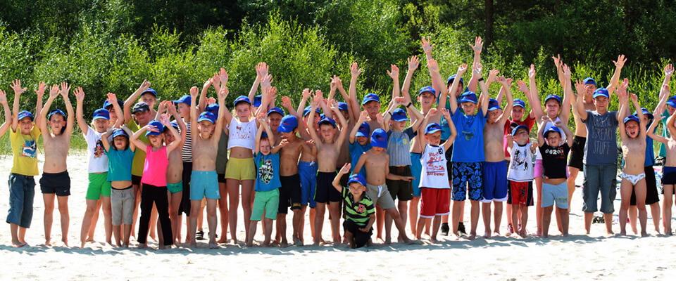 vasaras sporta nometnē