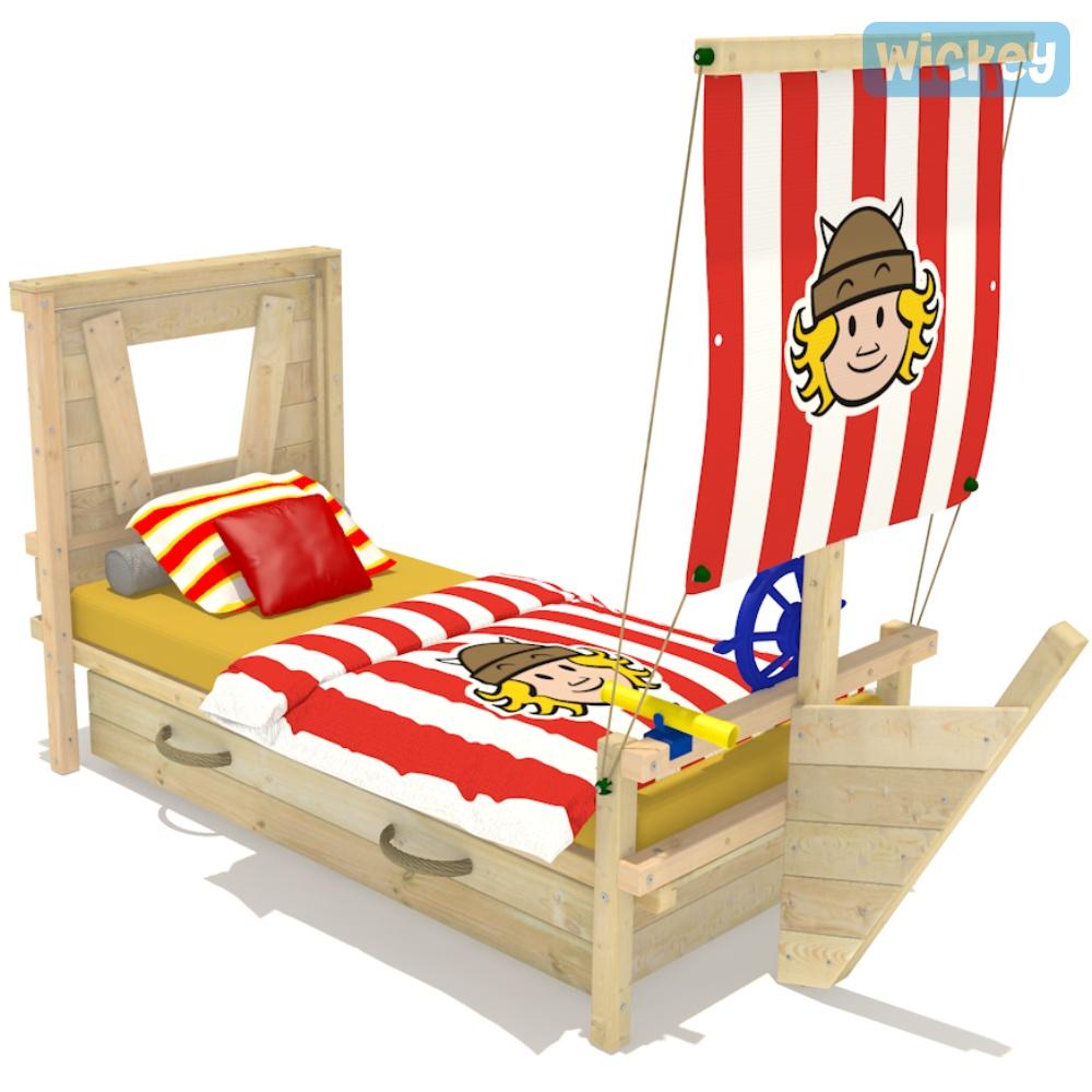 wickey kinderbett captain coconut spielbett jugendbett. Black Bedroom Furniture Sets. Home Design Ideas