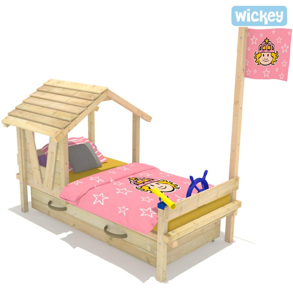 wickey kinderbett forest house spielbett jugendbett. Black Bedroom Furniture Sets. Home Design Ideas