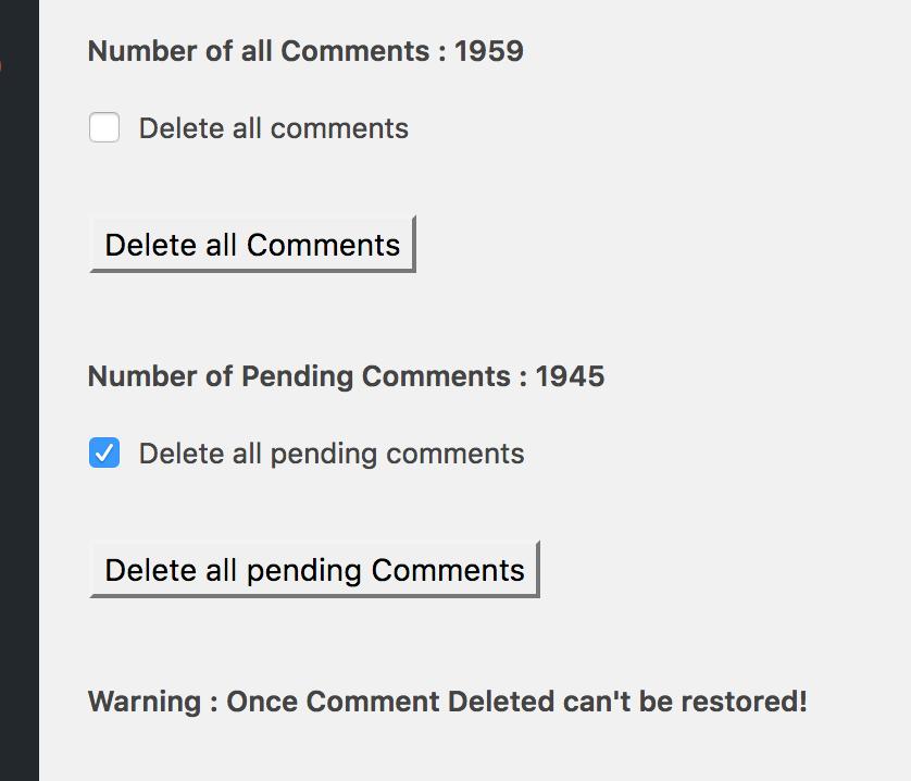 plugin-wordpress-cancella-commenti-selezione