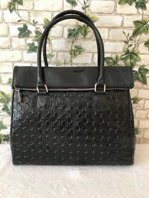10c4eb5e9c98 Róma valódi olasz bőr táska - fekete - Orsi Outlet