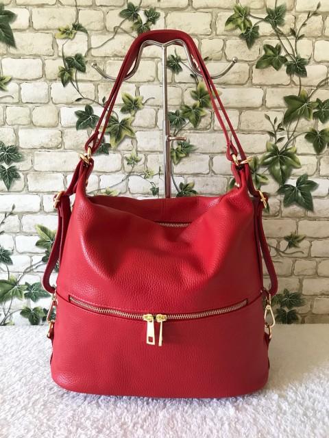 c356cafd32 Multifunkciós valódi olasz bőr táska - piros - Orsi Outlet