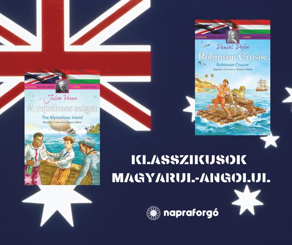 Új kötetekkel bővült a Klasszikusok magyarul-angolul sorozat