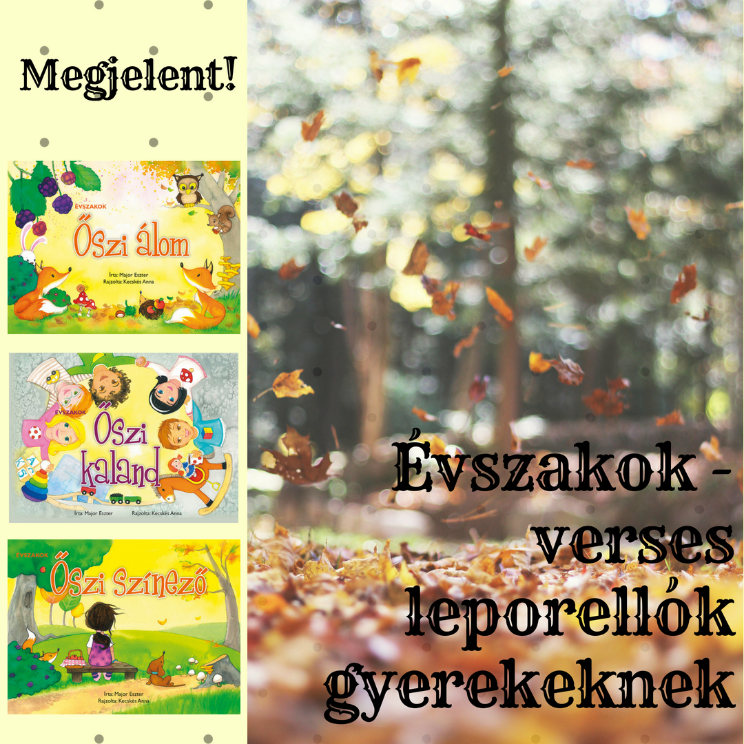 Megjelentek az Évszakok-sorozat őszi kötetei!