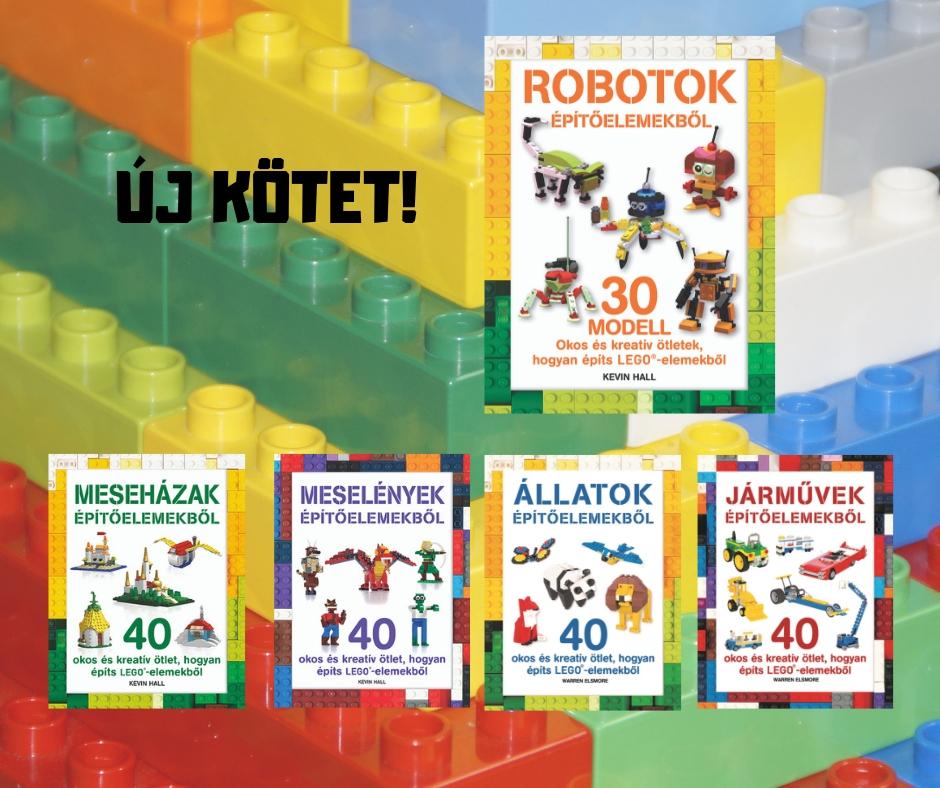 Új kötettel bővül a LEGO-sorozat!