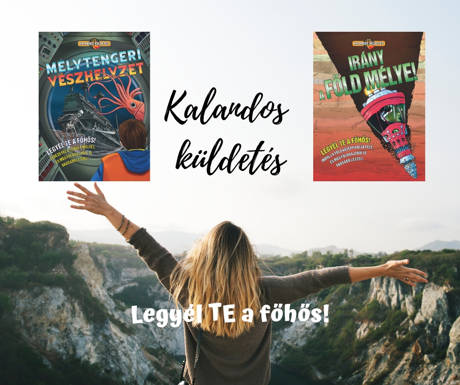 Megjelentek a Kalandos küldetés-sorozat új kötetei!