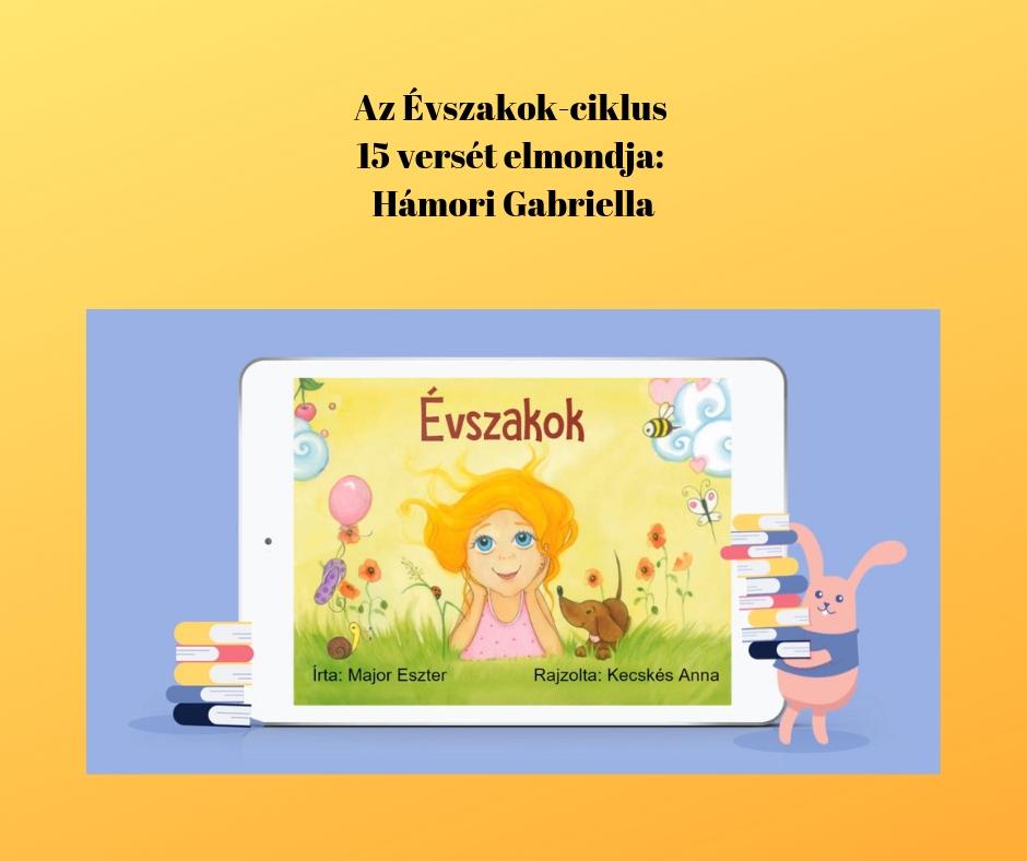 Az Évszakok-sorozat versei a BOOKR Kids-en