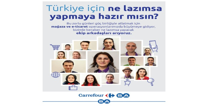 İstanbul Kemerburgaz CarrefourSA-Kasiyer