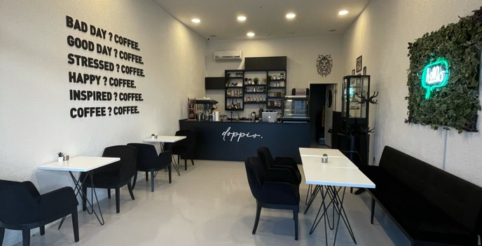 Doppio coffeehouse da çalışacak eleman aranıyor.