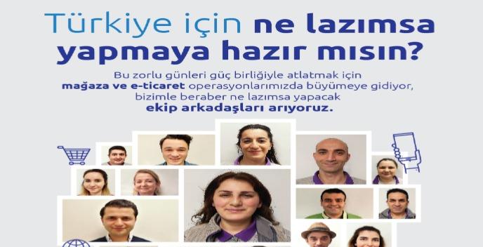 İstanbul Kağıthane CarrefourSA Mağaza Görevlisi