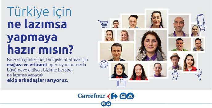 Tekirdağ Süleymanpaşa Altınova Carrefoursa Mağaza Görevlisi