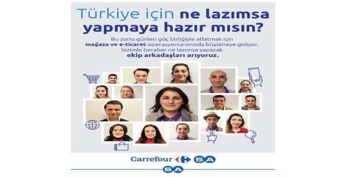 İstanbul Maltepe Çamlı Sokak CarrefourSA- Mağaza Görevlisi