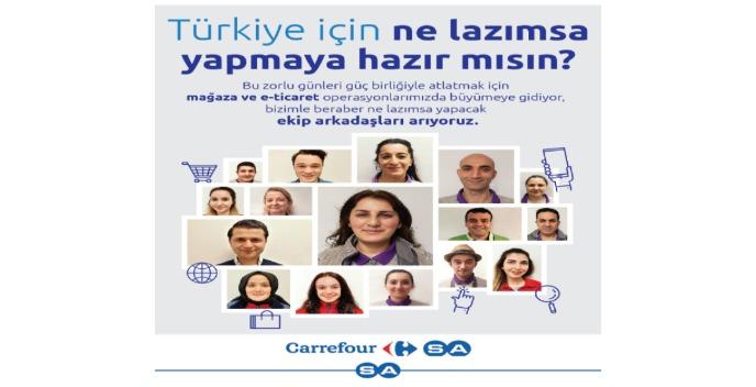 İzmir Seferihisar Carrefoursa - Mağaza Görevlisi