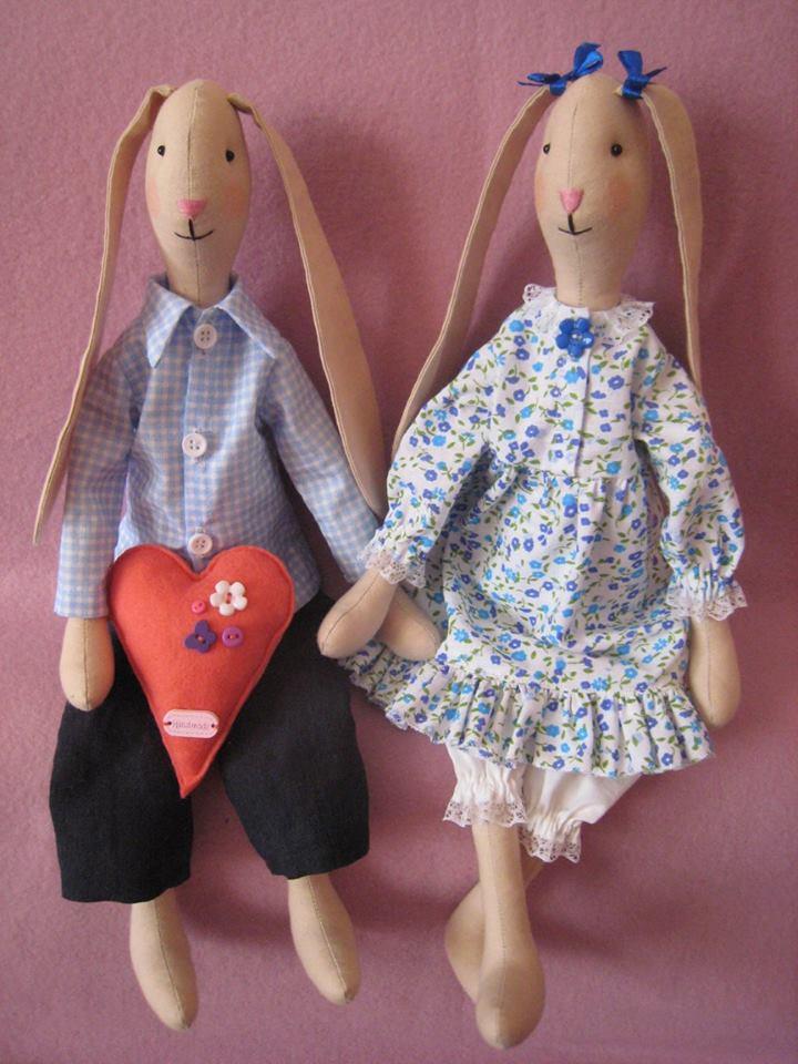 Tilda - ręcznie robiona lalka