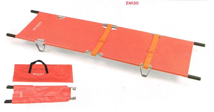EM 131 Nosze składane na stelażu z torbą i pasami