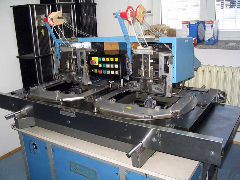 Montaż przewlekany automatyczny axial i radial 1