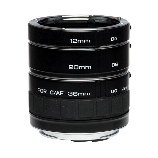 Pierścienie pośrednie 12/20/36mm z przeniesieniem /Kenko DG Canon EF/EF-S Kenko