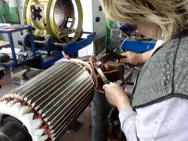 Naprawa maszyn elektrycznych