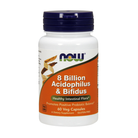 8 BILLION ACIDOPHILUS & BIFIDUS - 60 CAPSULES