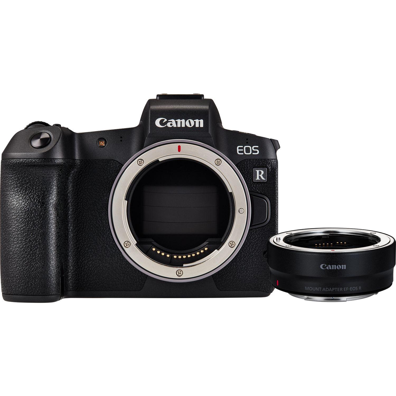 Super Bezlusterkowiec Canon EOS R + Adapter EF-EOS R