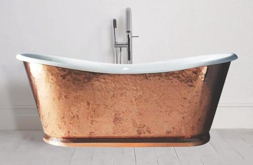 beaten-hammer-copper-double-slipper-bath