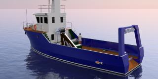 Oferujemy budowę - nowy projekt statku rybackiego SF2400