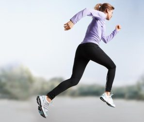 Odzież do biegania z materiałów izolujących