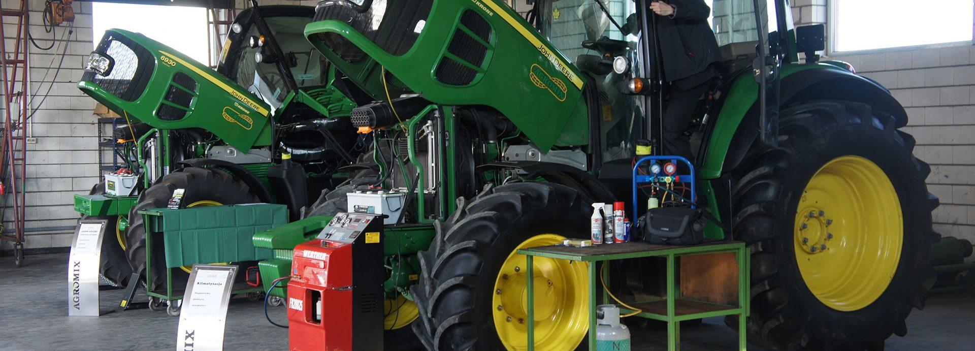 Serwis maszyn rolniczych