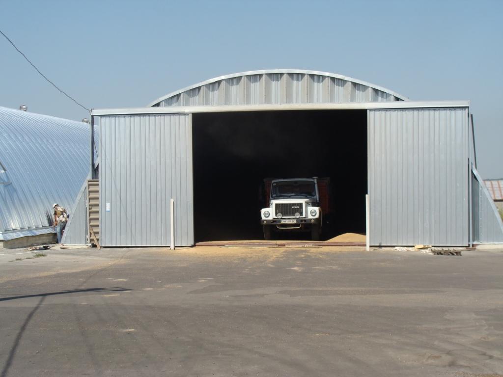 Bezramowe hangary, składane, produkowane fabrycznie