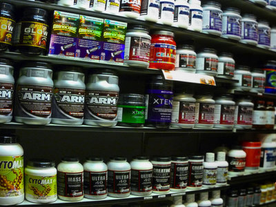 Sales company producing nutrients for athletes