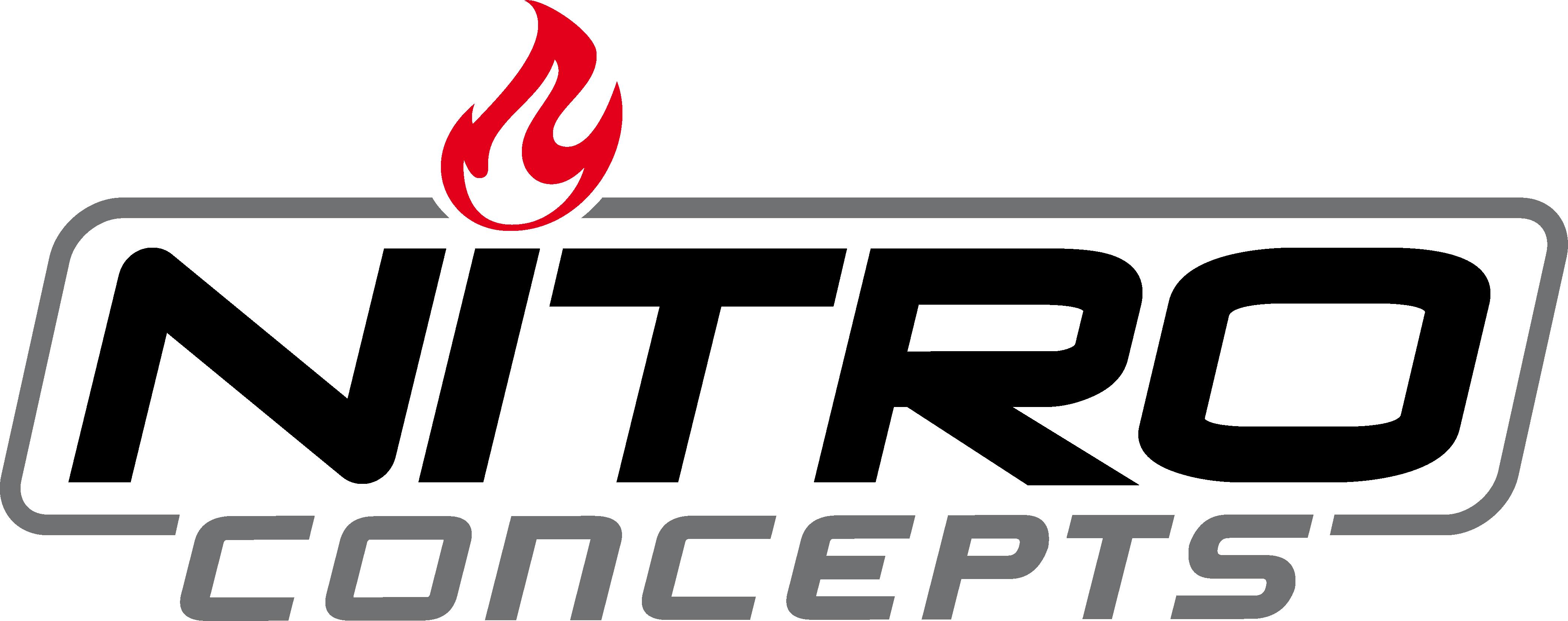 Nitro concepts logo black